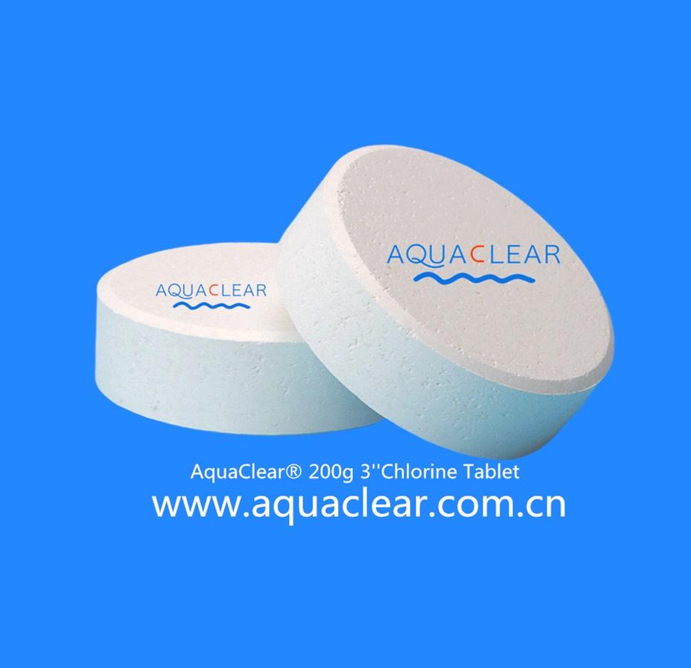 TCCA Trichloroisocyanuric Acid TCCA Trichlor Chlorine 90% Chlorine Tablets Chlorine Cloro HTH Aquafi