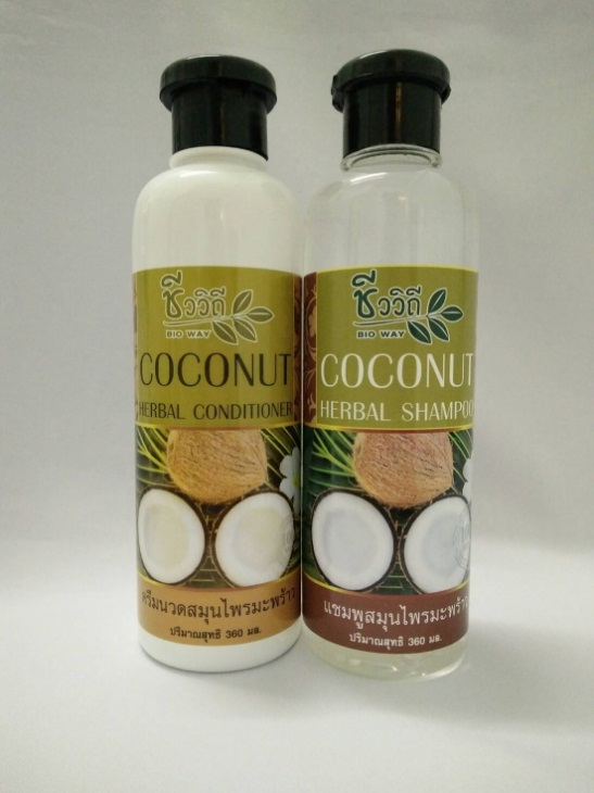 Coconut Hair Care Set - Shampoo, Conditioner, Detox Treatment