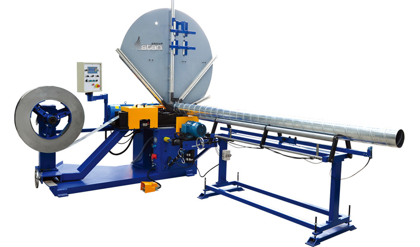 Sell Spiral Tubeformer With Saw Cutting System