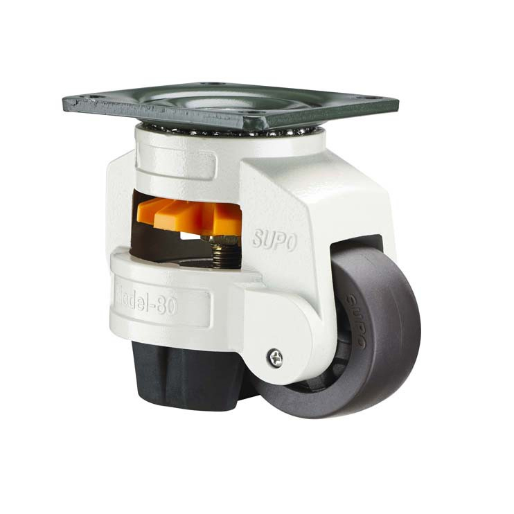 50-750 KG Load Heavy Duty Leveling Caster Level Castors Adjustable Caster Wheels