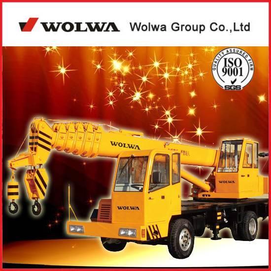 china homemade truck crane
