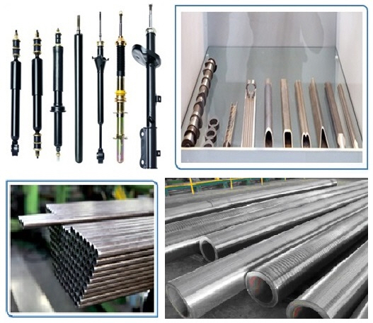 Hydraulic cylinders, Stainless steel, Heat exchanger tubes