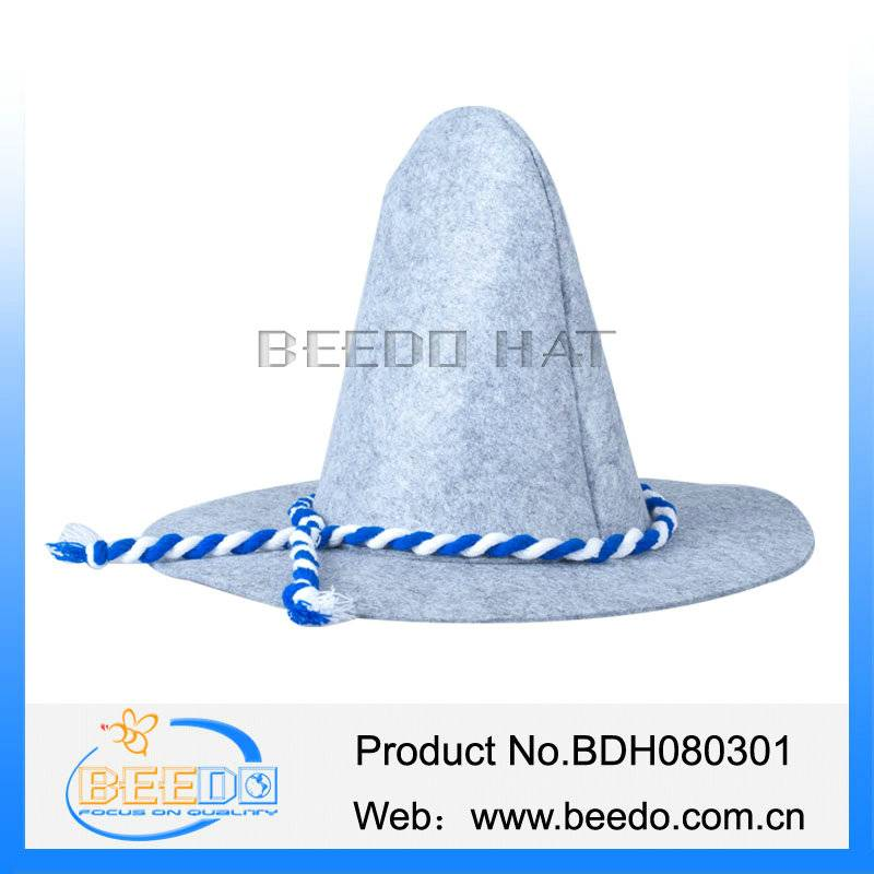 China wholesale polyester felt custom german oktoberfest hats