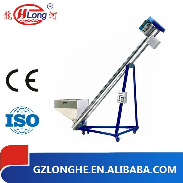 Hot sale plastic screw conveyor with CE approve Guangzhou