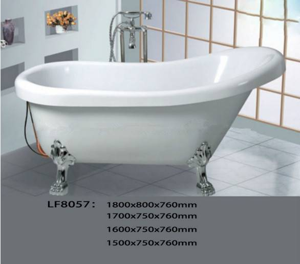 China Mainland Classic Cheap Small Freestanding Bathtub