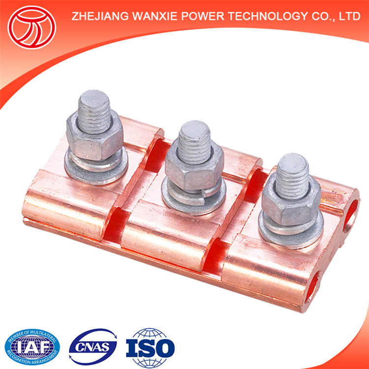 Shaped Copper wire parallel groove connector