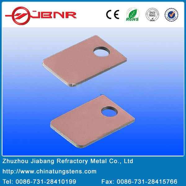 CuW and CPC flanges for ceramic air cavity packages