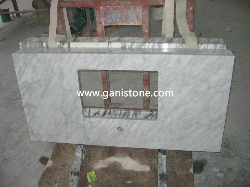 Cararra White Marble Vanity Top