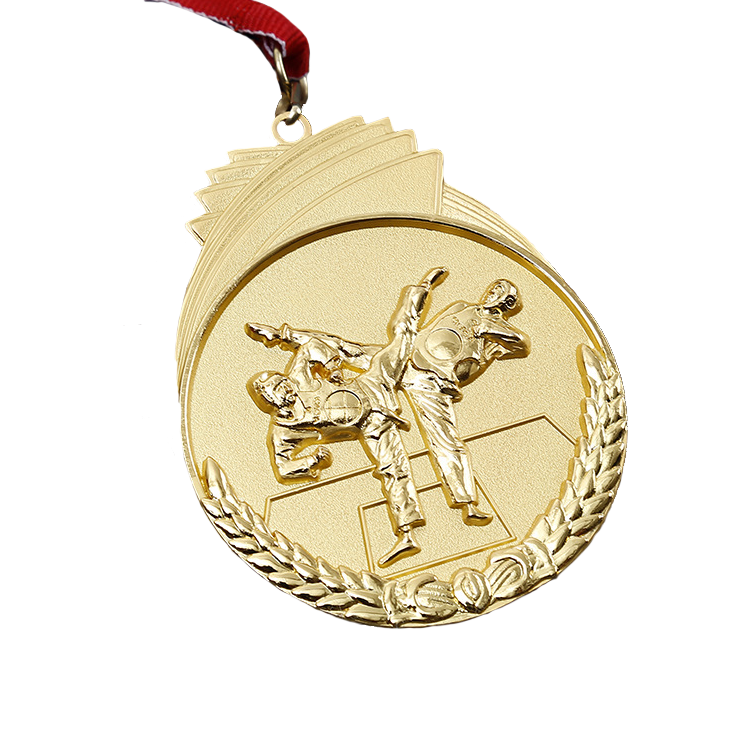 Free Sample fast delivery taekwondo medals Small order accept