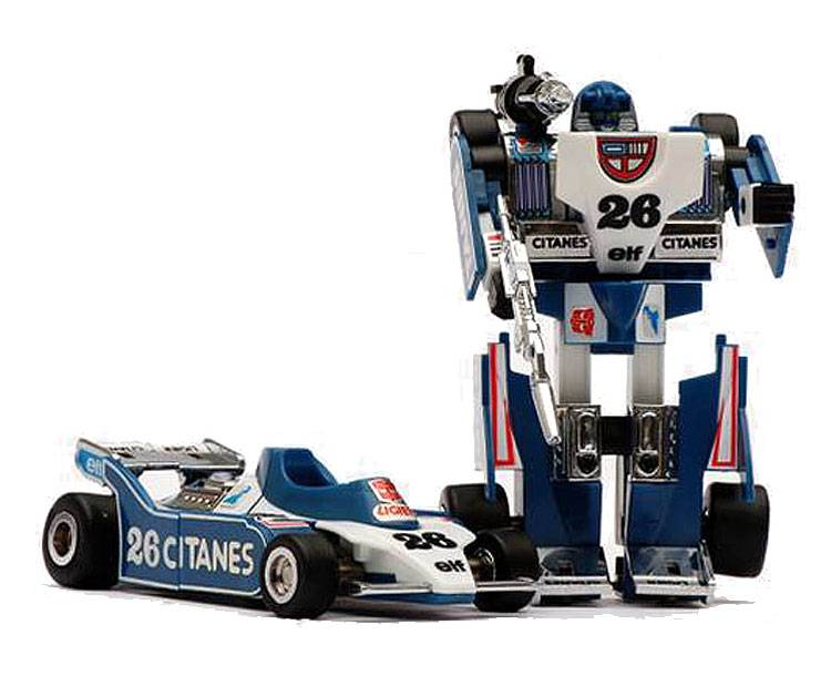 Transformers G1 Reissue Mirage KO VERSION
