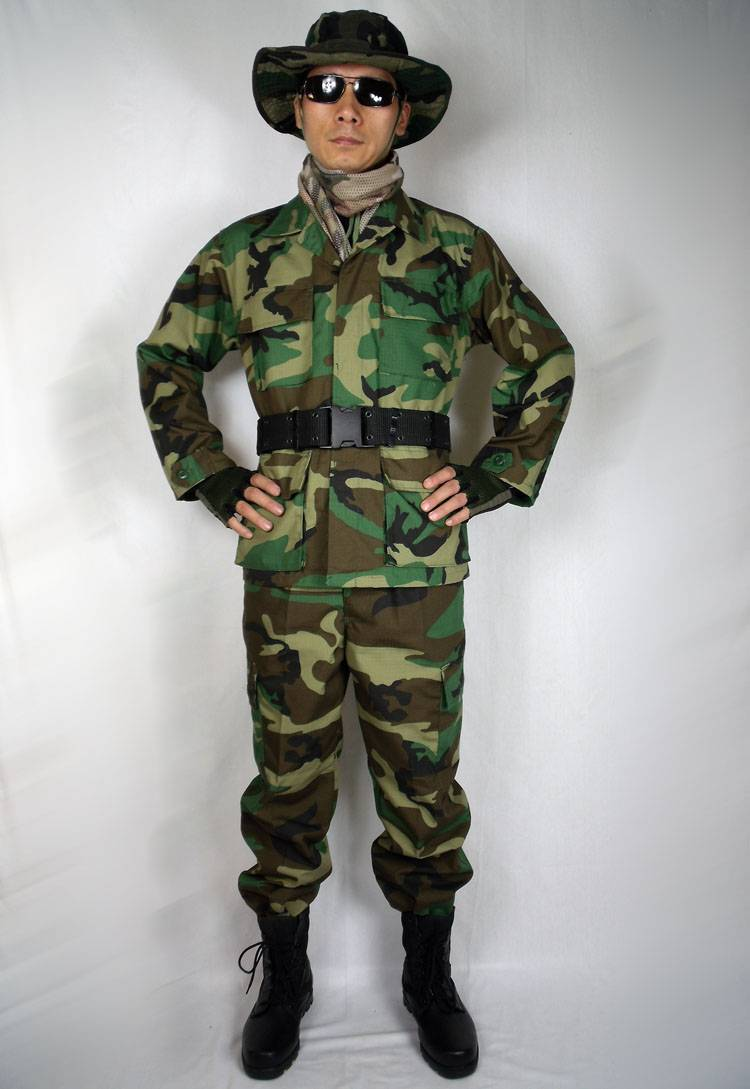 BDU 4Color jungle military uniform
