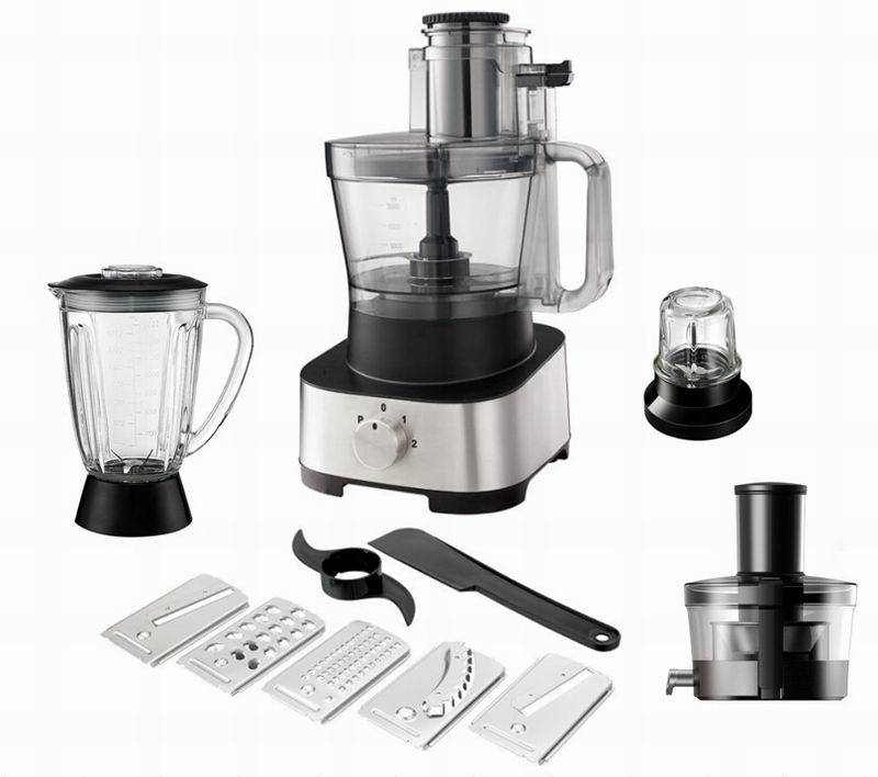Food Preparation Stainless Steel Food Processor 1000W XL Bowl