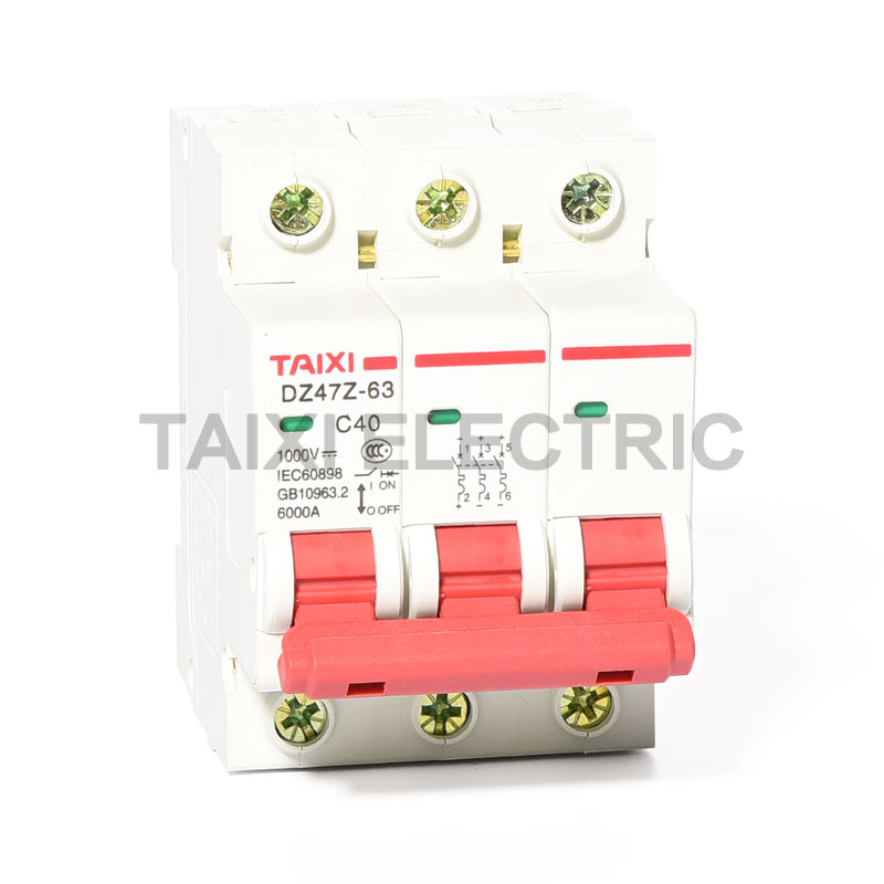 DZ47Z-63 DC Mini Circuit Breaker (1p, 2p, 3p, 4p) mcb