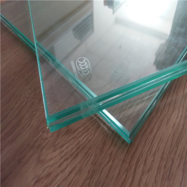 4-19mm Clear/Colored Tempered Laminated Low E Insulating Glass