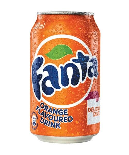 Fanta Orange 330ml x 24 Cans