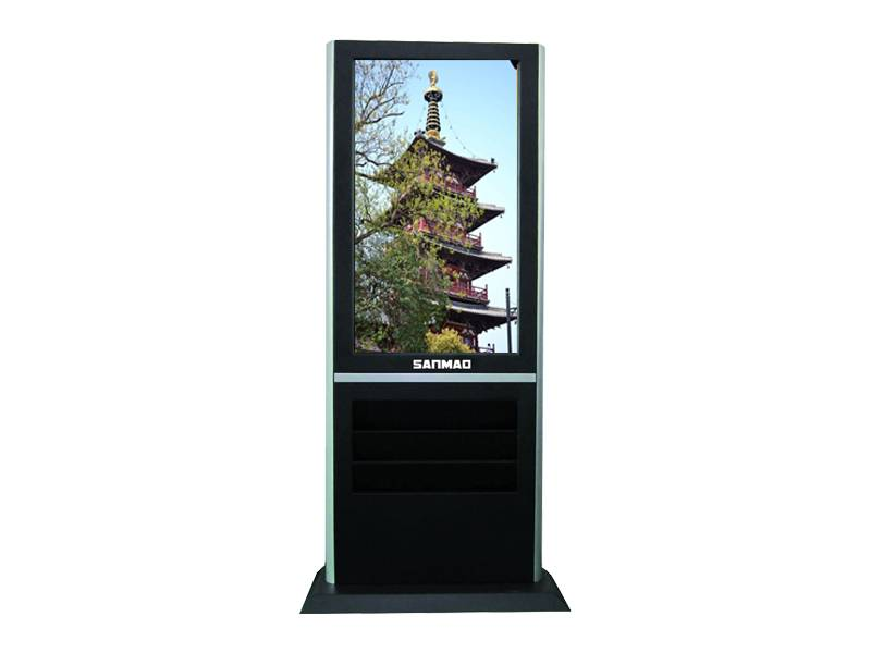 SANMAO 55 Inch Floor Standing LCD Commercial Advertising Display Media Player Machine