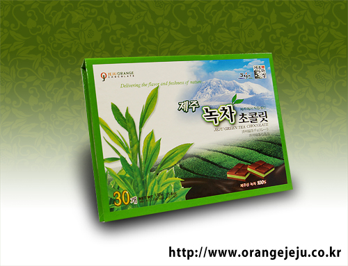 Jeju green tea Chocolate
