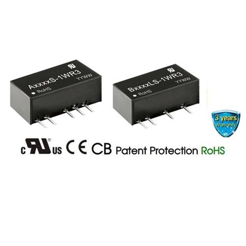 24V Input, 12V Output DC-DC Converter Isolated