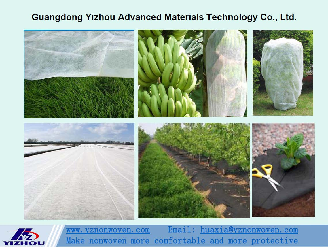 pp spunbond nonwoven fabric for agriculture
