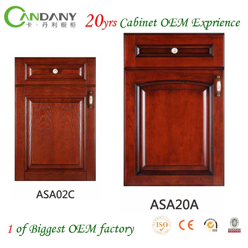 20 Yrs in OEM Jane European Style Customized Kitchen Cabinet