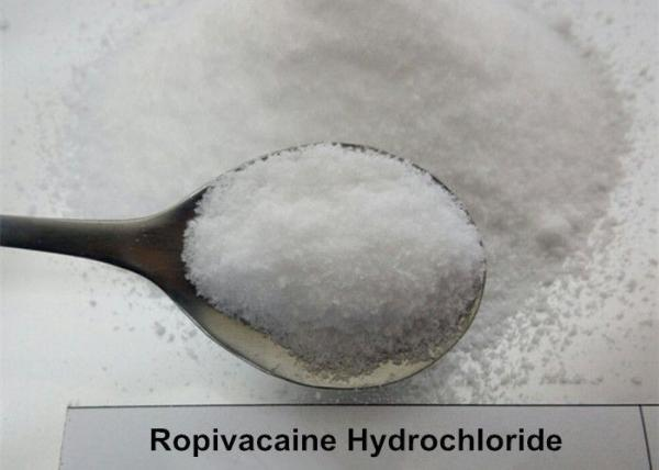 Steroid Raw Powder Ropivacaine HCL CAS 98717-15-8
