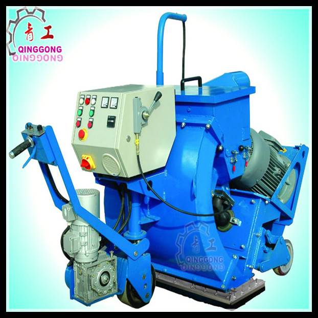 Bridge Surface Marking Removal Cleaning Floor Shot Blasting Machine