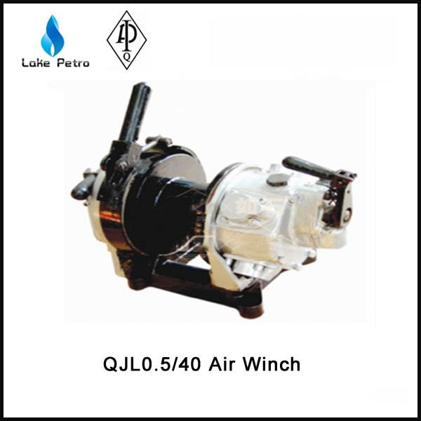 High quality QJL0.5/40 air winch in oilfield