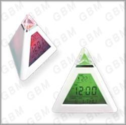 Colorful Triangle Clock
