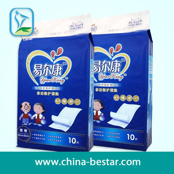 Xiantao Factory Supply Favourable Price for Year Kang 60*90 CM Incontinence Diapers(BST-032)