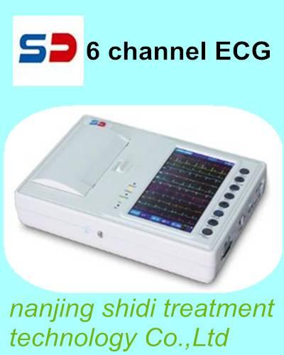 6 channel ECG