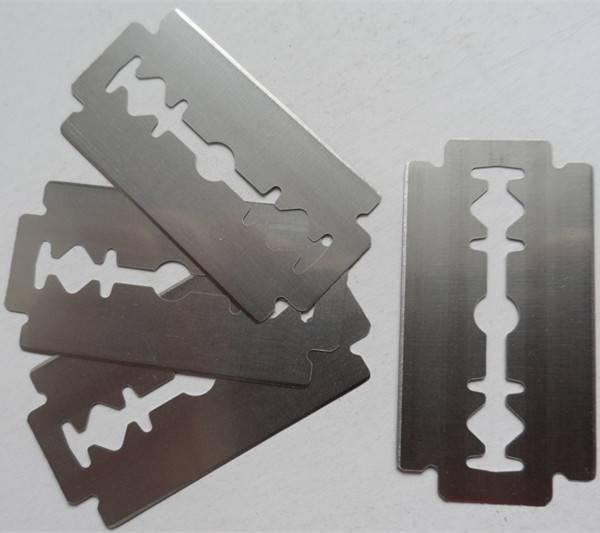 Sharp edge razor blade