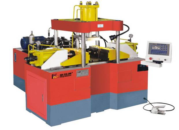 Straight Pipe Forming Machine