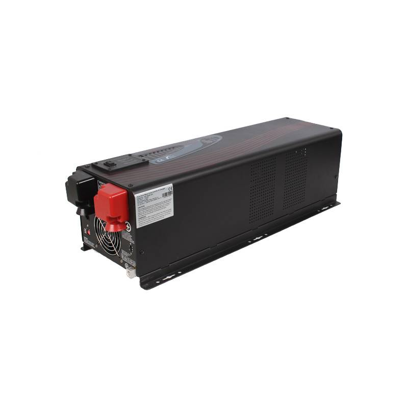 Hybrid DC to AC inverter 4000W 24V/48V DC 110V/230V AC with 12000W Surge Power