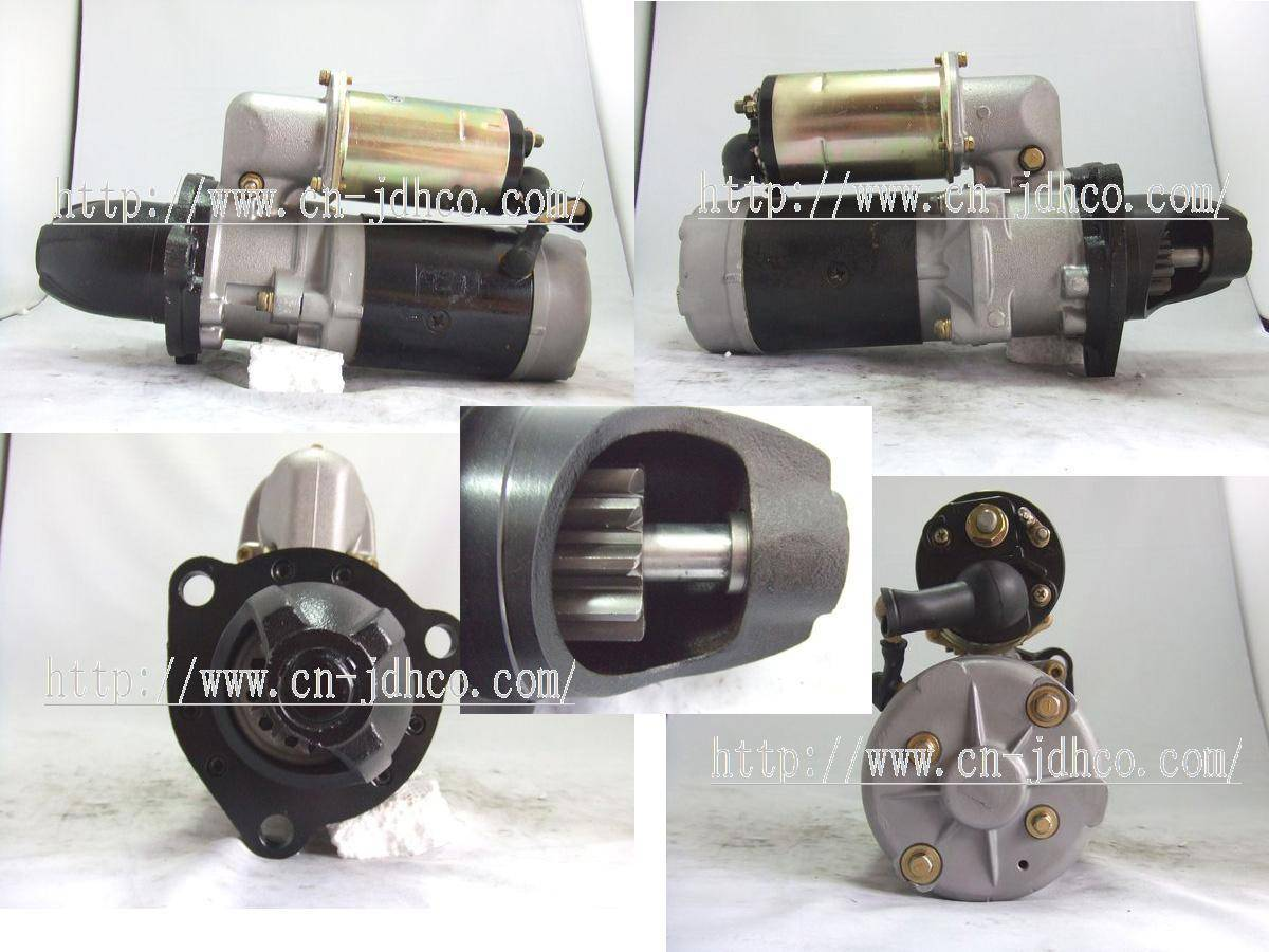 Starter motor  6D17  0-23000-7761  600-813-3712     0-23000-7761 7760  6613  6612  6610  Mitsubishi