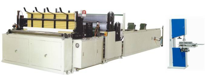 HC-1575-C Full Automatic High-Speed Perforating and Rewinding Toilet Paper Machine