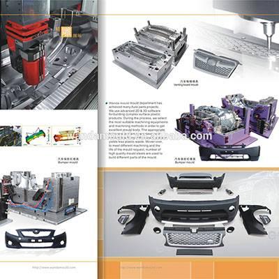 Auto parts plastic injection mould&Bumper plastic mould