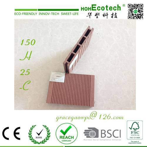 CE ASTM SGS WPC factory Cheap price wood composite flooring