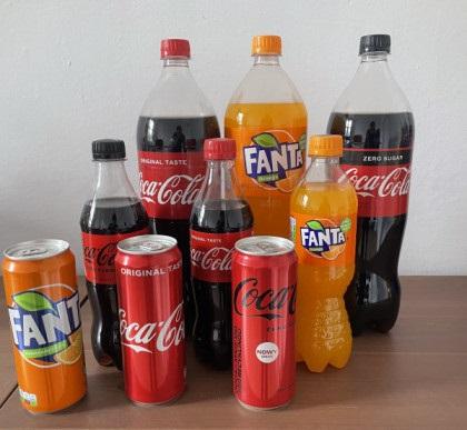 Coca Cola, Fanta, Sprite Wholesale drinks