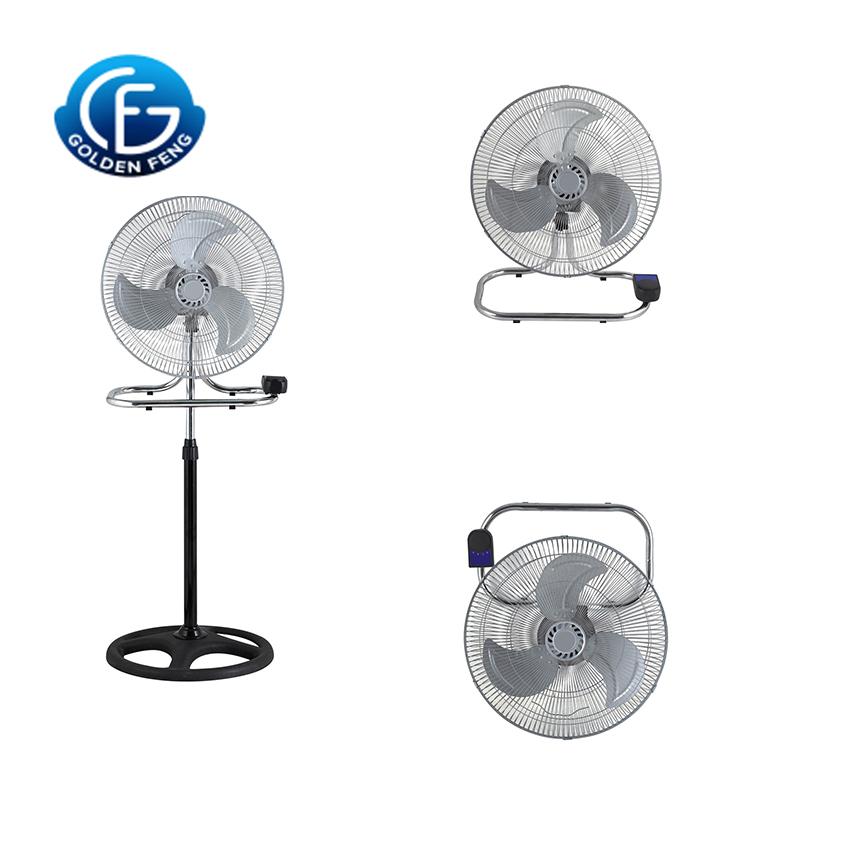 3 in 1 industrial standing fan