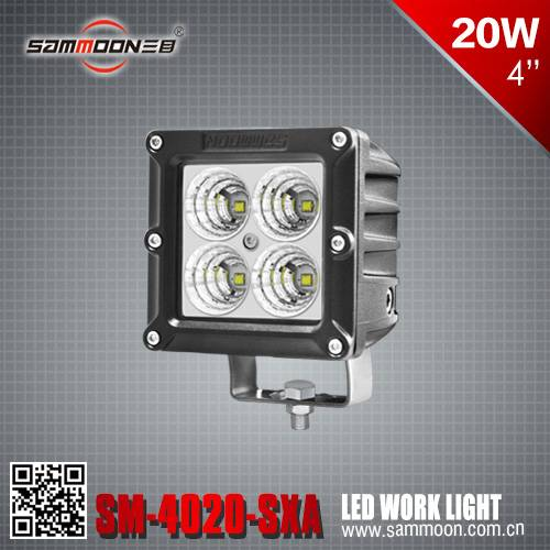 4 Inch 20W cree LED Work Light