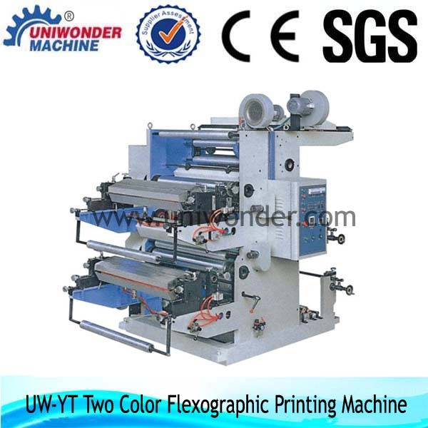 YT Series Two Color Flexible Printing Machine