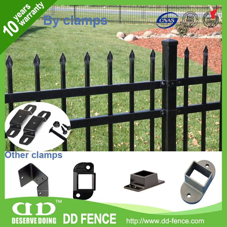 China manufacturer Exterior Wrought Iron Railings