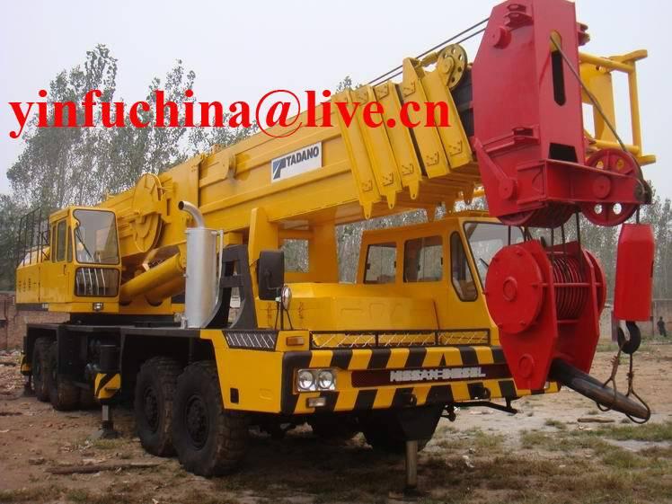 120T tadano Hydraulic Truck Crane