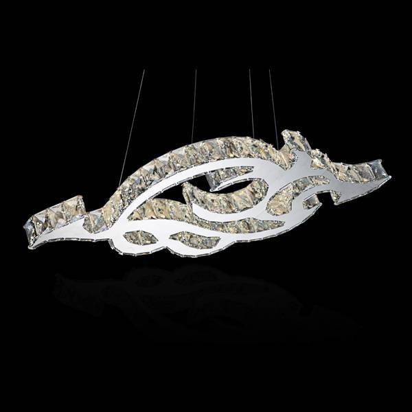 modern led crystal pendant light wholesale