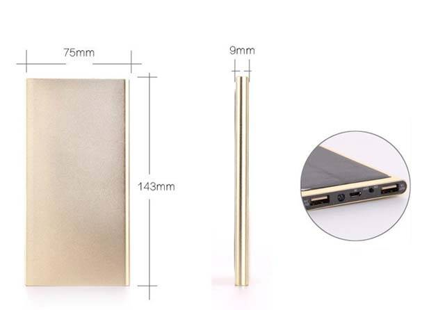 ultra thin mobile power bank