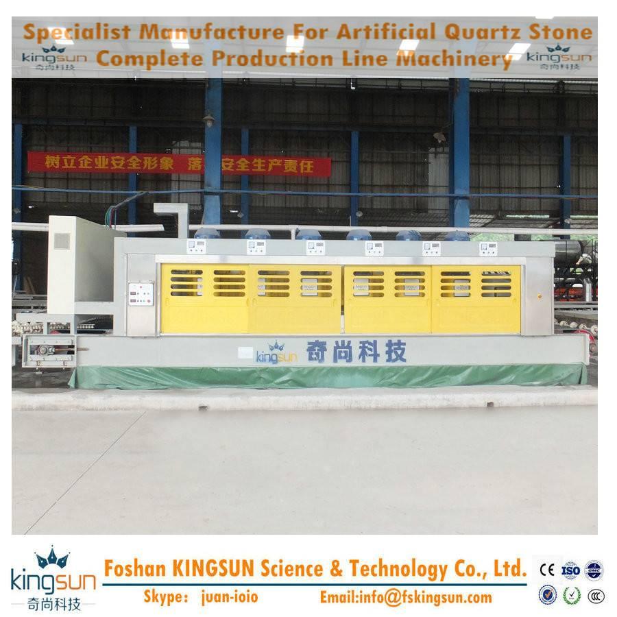 quartz stone calibrating machine/artificial stone slab calibration machine