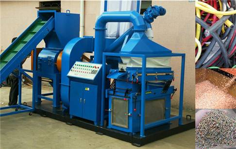 Waste management Wire cable recycle machine