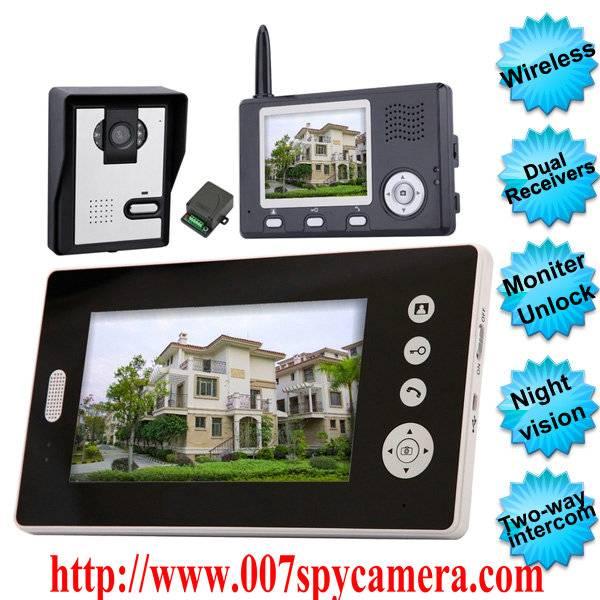 Wireless Video Door Phone With Dual Receivers (CMOS Sensor) LM-VDP730