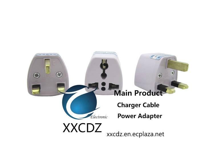 United Kingdom Electrical plug convertor AC Socket Adapter to eu/usa travel  Ireland Malta Malaysia