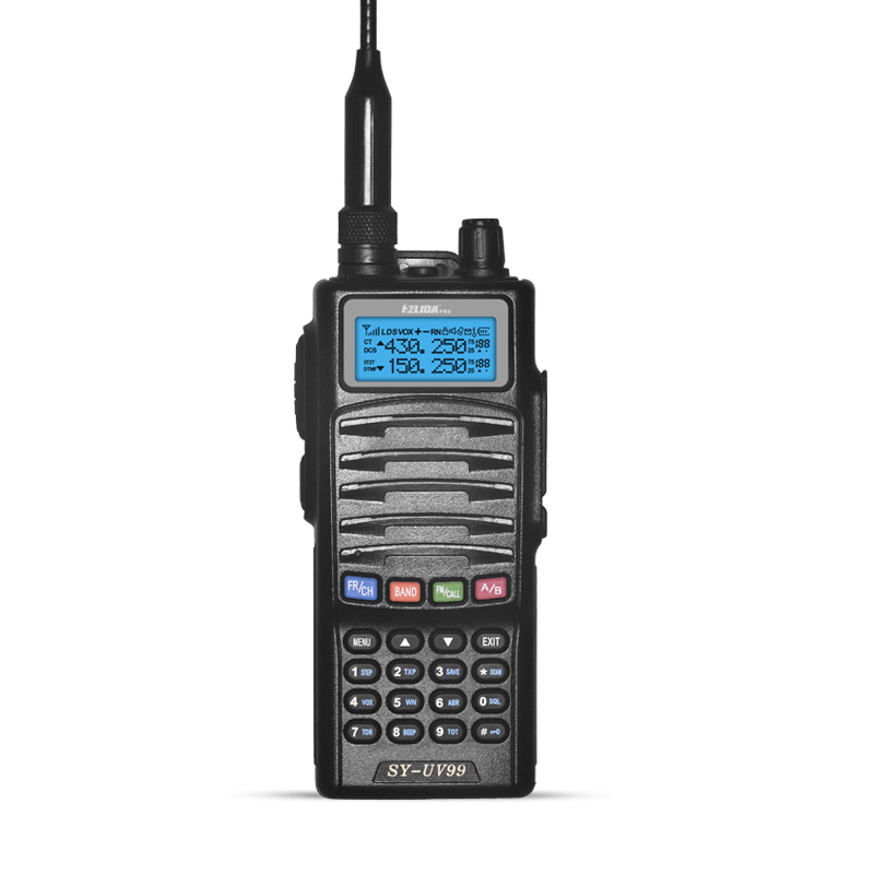 HELIDA Two Way Radio Professional Transceiver With Hand Mini Generators 5W 128 Channels SY-UV99